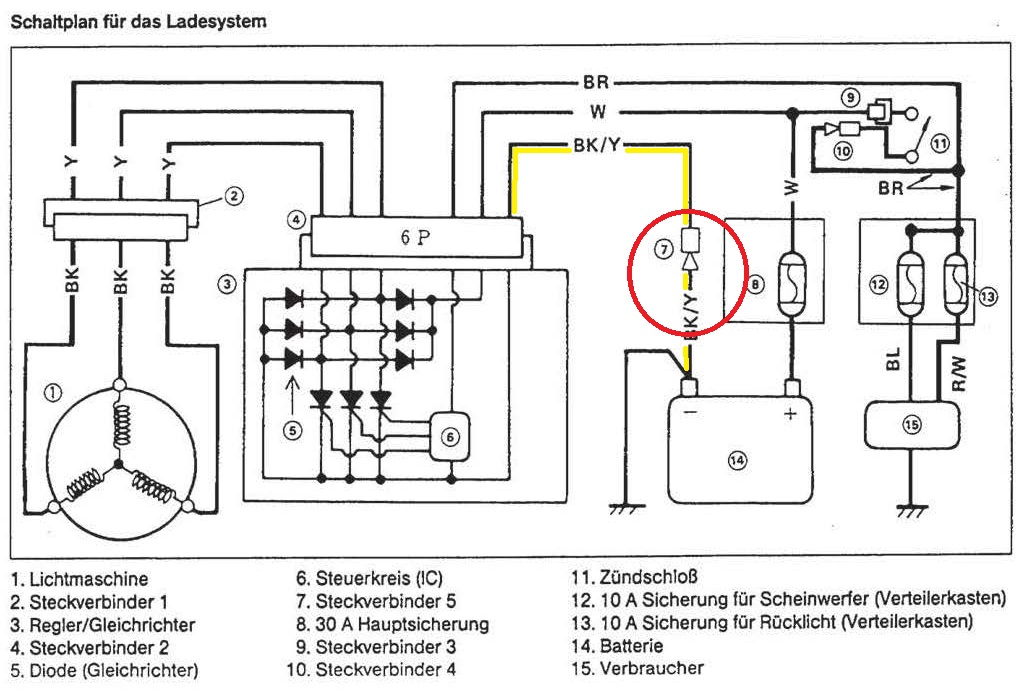 Wunderbar Lichtmaschine Schaltplan Ideen - Elektrische Schaltplan ...